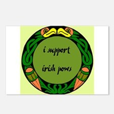 SUPPORT IRISH POWs Postcards (Package of 8)