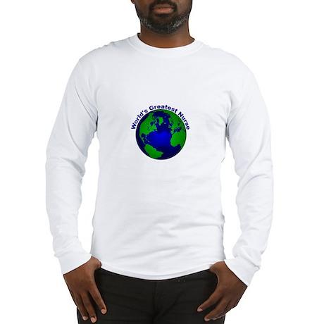 World's Greatest Nurse Long Sleeve T-Shirt