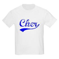 Vintage Cher (Blue) T-Shirt