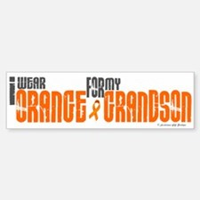 I Wear Orange For My Grandson 6 Bumper Bumper Bumper Sticker