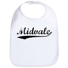 Vintage Midvale (Black) Bib
