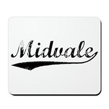 Vintage Midvale (Black) Mousepad