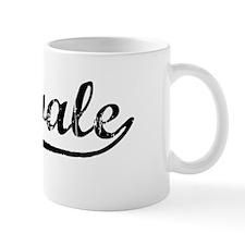 Vintage Midvale (Black) Mug
