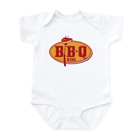 BBQ King Infant Bodysuit