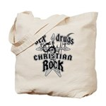 Sex Drugs Christian Rock Tote Bag