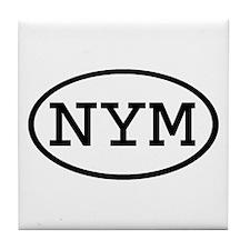 NYM Oval Tile Coaster