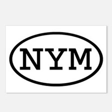 NYM Oval Postcards (Package of 8)