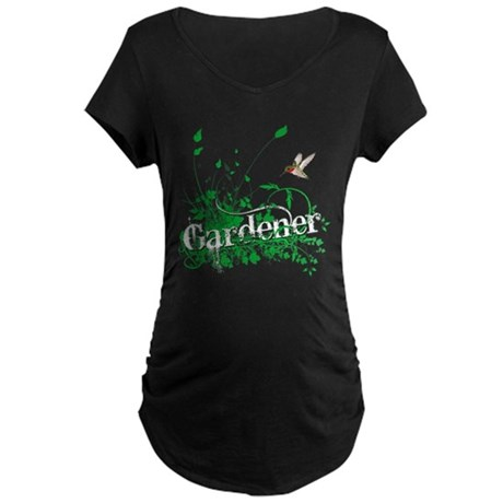 Gardener Maternity Dark T-Shirt
