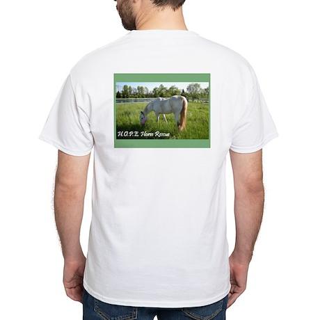 "H.O.P.E.'s ""3 Amigos"" White T-Shirt"