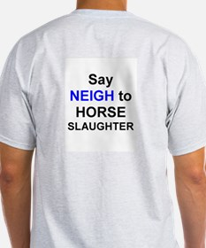 Say NEIGH to horse slaughter!