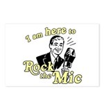 Rock the Mic Postcards (Package of 8)