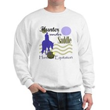 Hunter in periwinkle Sweatshirt