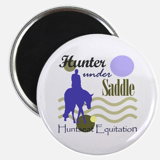 Hunter in periwinkle Magnet