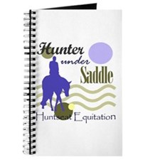 Hunter in periwinkle Journal