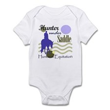 Hunter in periwinkle Infant Bodysuit