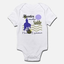 Hunter in periwinkle Onesie