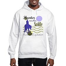 Hunter in periwinkle Hoodie