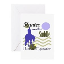Hunter in periwinkle Greeting Cards (Pk of 10)