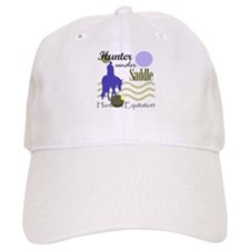 Hunter in periwinkle Baseball Cap