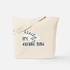 Euchre Time Tote Bag