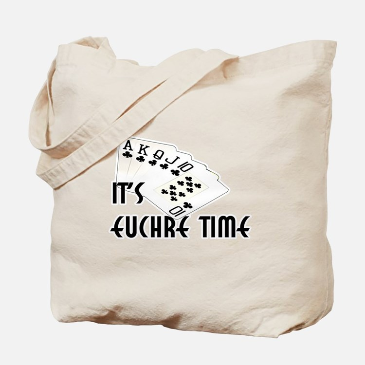 Euchre Time Tote Bag