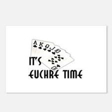 Euchre Time Postcards (Package of 8)