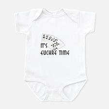 Euchre Time Infant Bodysuit