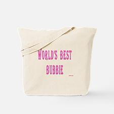 World's Best Bubbie Tote Bag