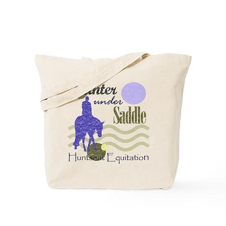 Distressed hunter in lavendar Tote Bag