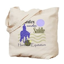 Distressed hunter in lavendar Tote Bag