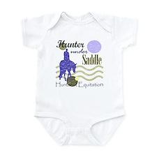 Distressed hunter in lavendar Infant Bodysuit