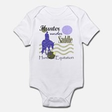 Distressed hunter in lavendar Infant Bodysuit