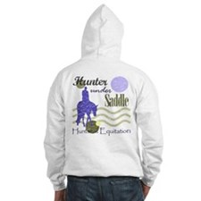 Distressed hunter in lavendar Hoodie