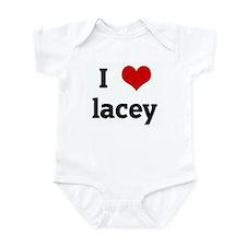 I Love lacey Infant Bodysuit