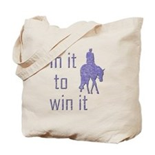 In it to win it hunter Tote Bag