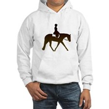 Hunter horse in brown Hoodie