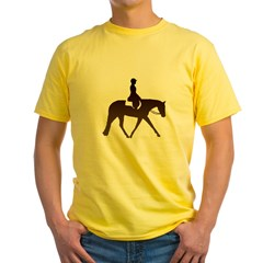 Hunter horse in brown T