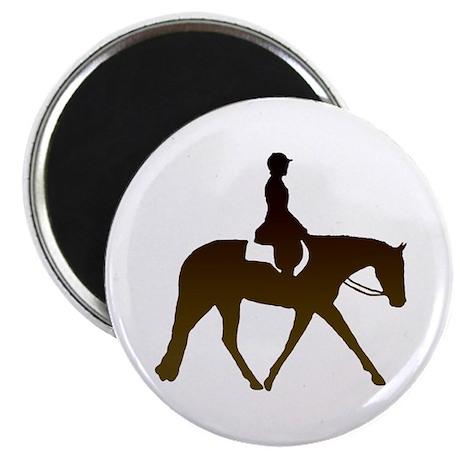"Hunter horse in brown 2.25"" Magnet (10 pack)"