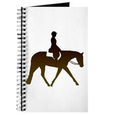 Hunter horse in brown Journal