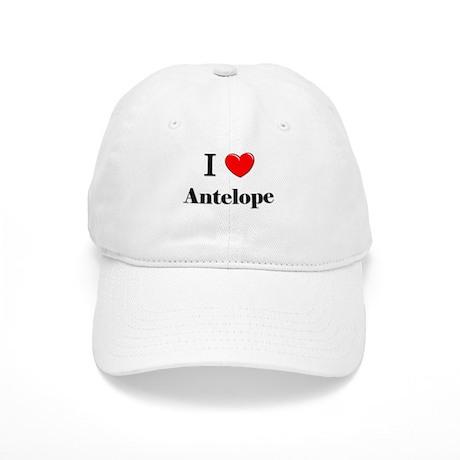 I Love Antelope Cap