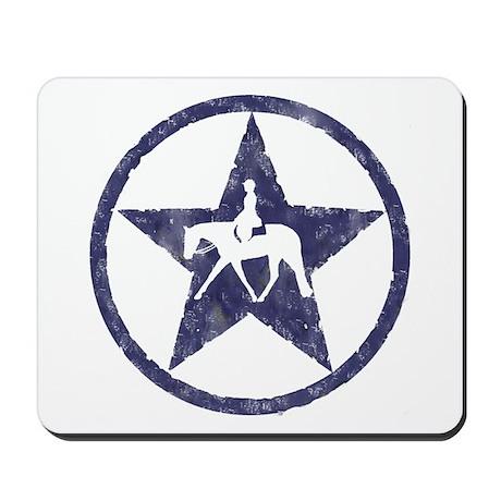 Texas star english horse Mousepad