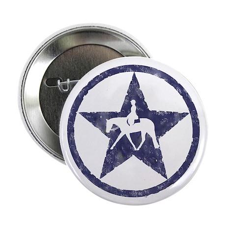 "Texas star english horse 2.25"" Button (100 pack)"