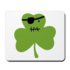 Pirate Shamrock Mousepad