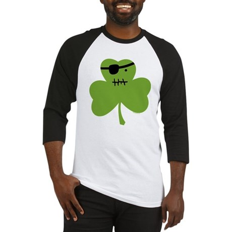 Pirate Shamrock Baseball Jersey