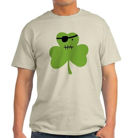 Pirate Shamrock Light T-Shirt