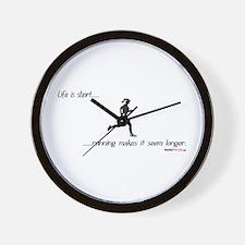 Life is Short Running Wall Clock