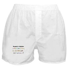 Brayden's Animal Alphabet Boxer Shorts