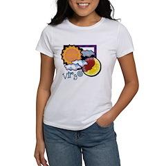 Virgo sun moon Women's T-Shirt