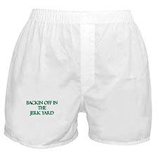 Backin off Boxer Shorts