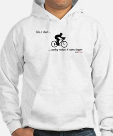 Life is short cycling Hoodie